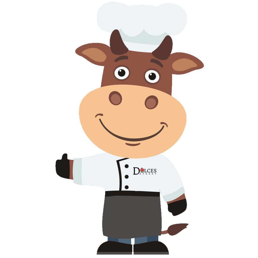 Dulces Street Chef Mascot