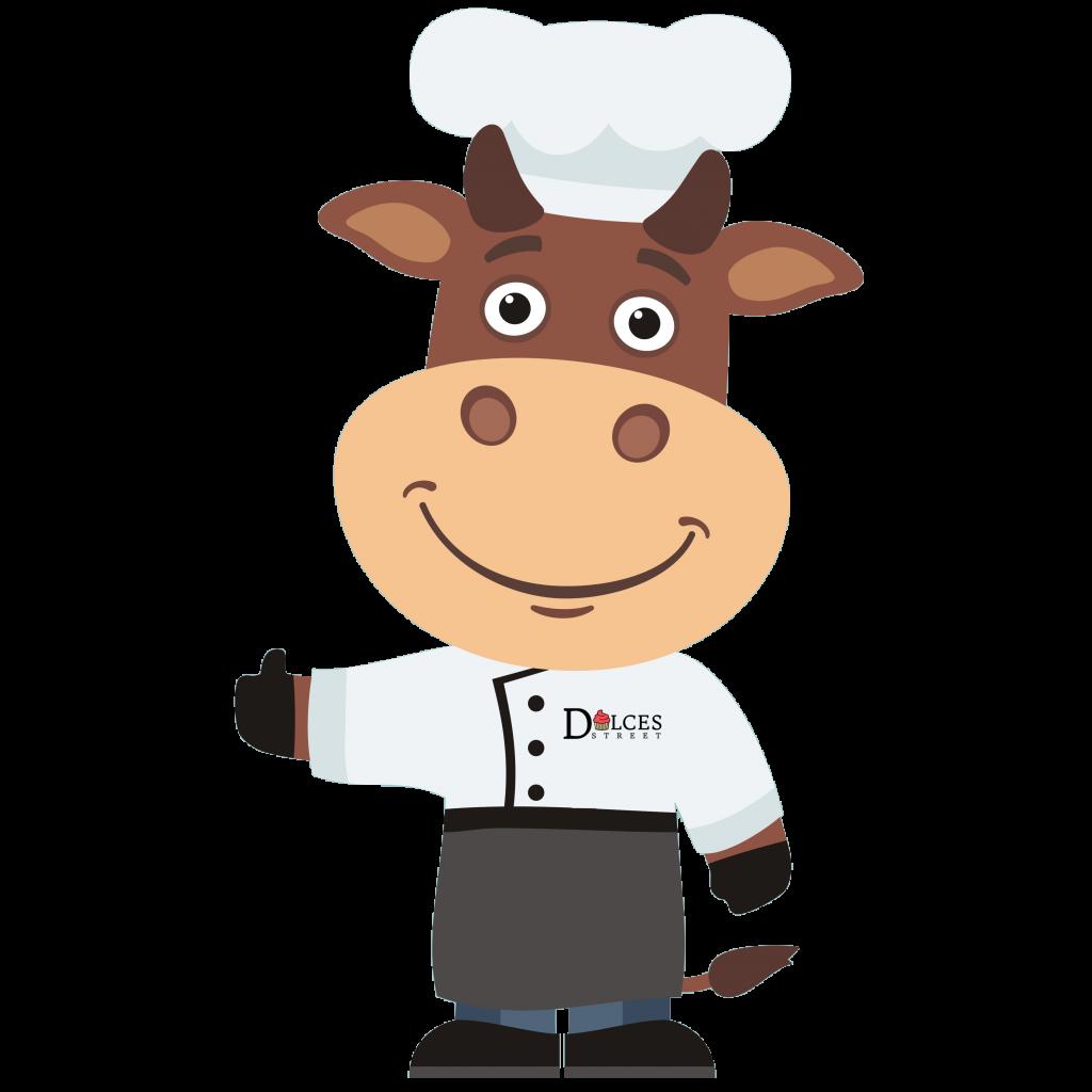 Dulces Street Chef Mascot